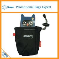 cusromed nylon taffta drawstring bag waterproof collect bag