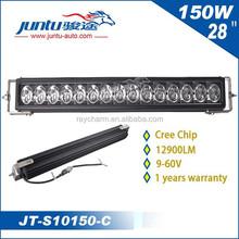 new products 12v 24v 150W 28inch led headlight off road led light bar JT-S10150-C led bar lights wholesale for trucks SUV JEEP