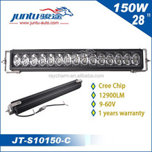 wholesale 12v 24v car led light bars 150W 28inch outdoor led strip light JT-S10150-C truck lights for auto accessories jeep