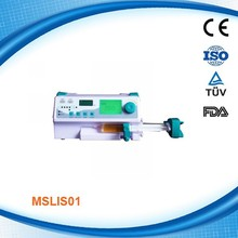 MSLIS01-C Cheap Price Single Channel Portable Medical/Clinical Syringe Pump,8 channels stackable