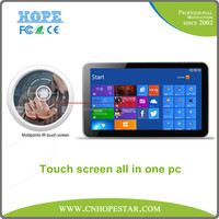 Aluminium alloy shell touch screen monitor Andriod 27 inch all in one