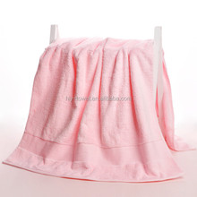 china factory direct sale 100% cotton solid color terry bath towel