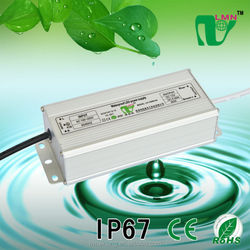 12V 6.66A 80W Waterproof LED power supply driver IP67