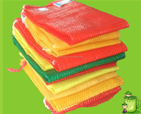 fruit vegetables firewood pp/pe net mesh bags for fruits vegetable