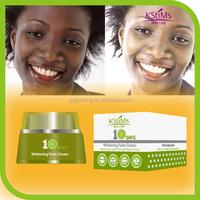 No side effect Instant Forever glutathione Anti spot best black skin face whitening beauty cream