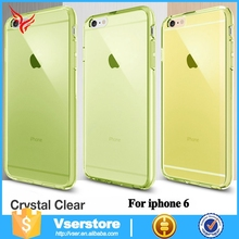 For Apple for iphone 6 tpu clear case, Clear soft for iphone 6 Tpu case wholesale
