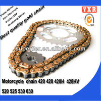 Motorcycle chain,motorcycle chain and sprocket ,Top quality and cheap sell kawasaki chain and sprocket kits