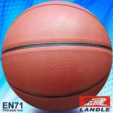good new official size new style rubber made light material rubber basketball