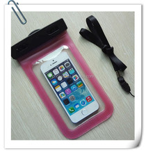 2015 Product mobile phone waterproof bag , waterproof phone bag