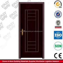 أعلى بيع الداخلية الباب الرئيسي التصاميم الإطار الخشبي pvc