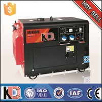Good price electric generator 5/5.5kw Air cooled small silent diesel generator price in Malaysia