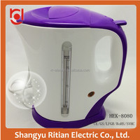 2015 new product home or hotel appliances the best large capacity electric cordless water kettle