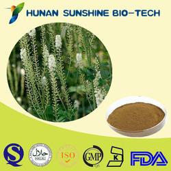 Black Cohosh Extract Powder/ Cimicifuga Racemosa Extract / 2.5% Triterpene Glycoside