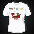 Hecho en china de impresión t- shirt