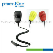 Commercial use choose speaker microphone strong case and PU cable