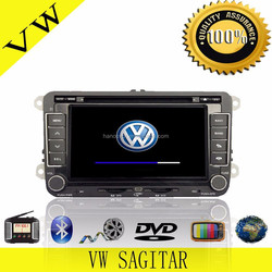 2 Din Car DVD For Volkswagen Touran Car Radio Navigation With Rear-view Camera