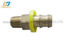 Maquinaria CNC parte carbon steel pipe fitting neumático conector