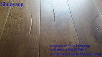 rustic grade limed french oak engineered flooring