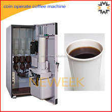 Neweek 3 flavor mixed automatic instant coin operated coffee machine