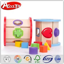 online shop alibaba high quality wooden building block intelligence box new toy