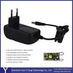 15w 5v 3a wall-mounted power adapter for LED LCD
