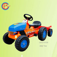 style ride on car for kids toys tractor and trailer 411