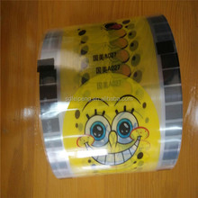 Cup sealing firm in roll form/plastic rolls/food grade