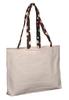 Convenient cotton bag shopping handbags, custom cotton shopping handbag, cotton shopping handbag with long handles