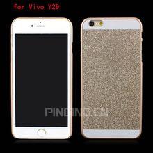 Luxury flash powder design for Vivo Y29 back cover,back cover for Vivo Y29 PC case