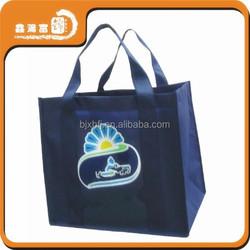 xhfj full color 80G laminated non woven shopping bag