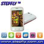 3.5 inch capacitive touch screen dual SIM single camera WIFI Android 4.1.1 mobile phone