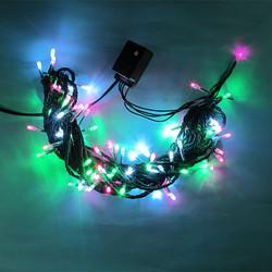 Factory selling led copper string lights garden decoration led christmas string lights with flower led
