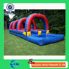 Long slide slip/inflatable water slide with pool for sale