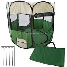 Two-Door Pop Up Portable Outdoor Dog Kennel --RBPT1004