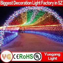 220V wedding decorations christmas light arch decorative indoor string lights factory price