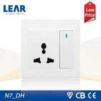 On sales N7 series wall mount socket outlets