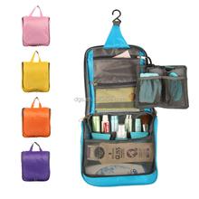 2016 Korean Waterproof Travel Wash Bag Oxford Cloth Comestic Folding Hang Bags Large Toiletry Bag for Women