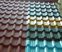 Factory direct sale corrugated color steel metal roofing tiles for portable house supplier in Yiwu
