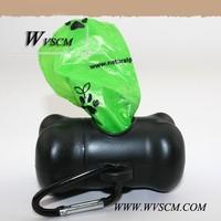 Bone shape Dispenser Dog Pickup Poop Bag with EPI