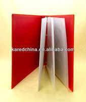 2014 new design fashion handmade paper file folder fashion paper file for fashion white-collar