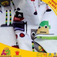 2015 fashion design MOQ 10MTS high quality Oeko-tex 100 and SGS zebra print minky fabric