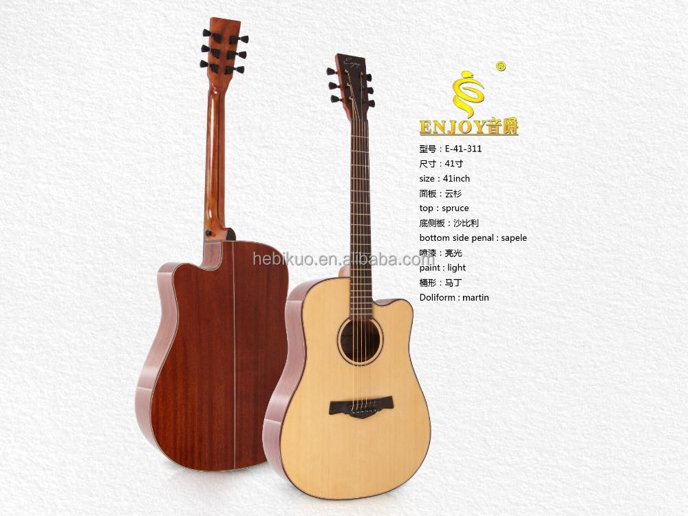 41'acoustic 민속 기타, 가문비 마틴 기타 E41-311