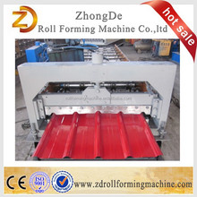 Customized Roof colored steel tiles making machines