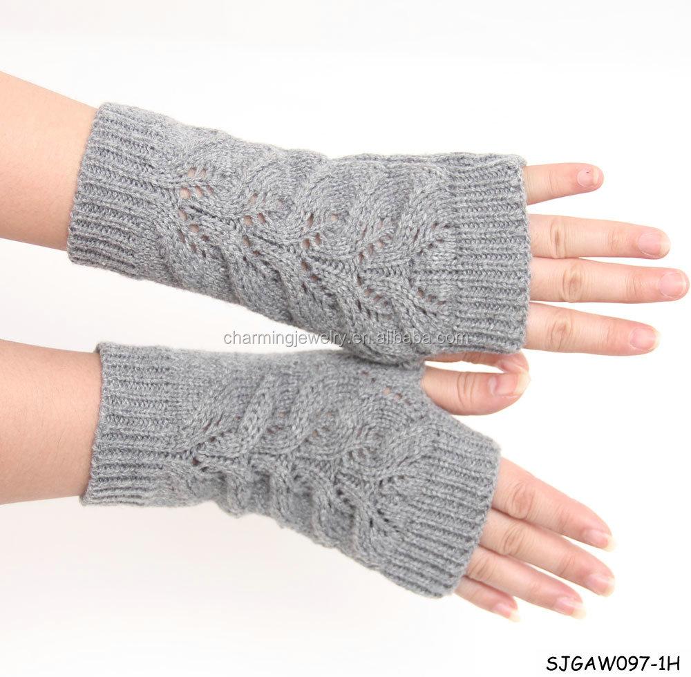 Вязания перчаток без палец 851