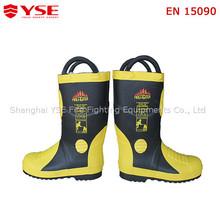 Fire retardant shoes for fireman firefighting