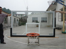 Guangdong China High quality Aluminium frame basketball glass backboard