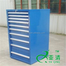 10 drawers cold rolled steel metal industrial cabinet