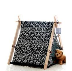 New design indoor wooden dog/cat house