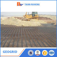 Biaxial Pp Geogrid Plastic Grids