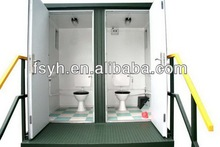 modular portable toilet units